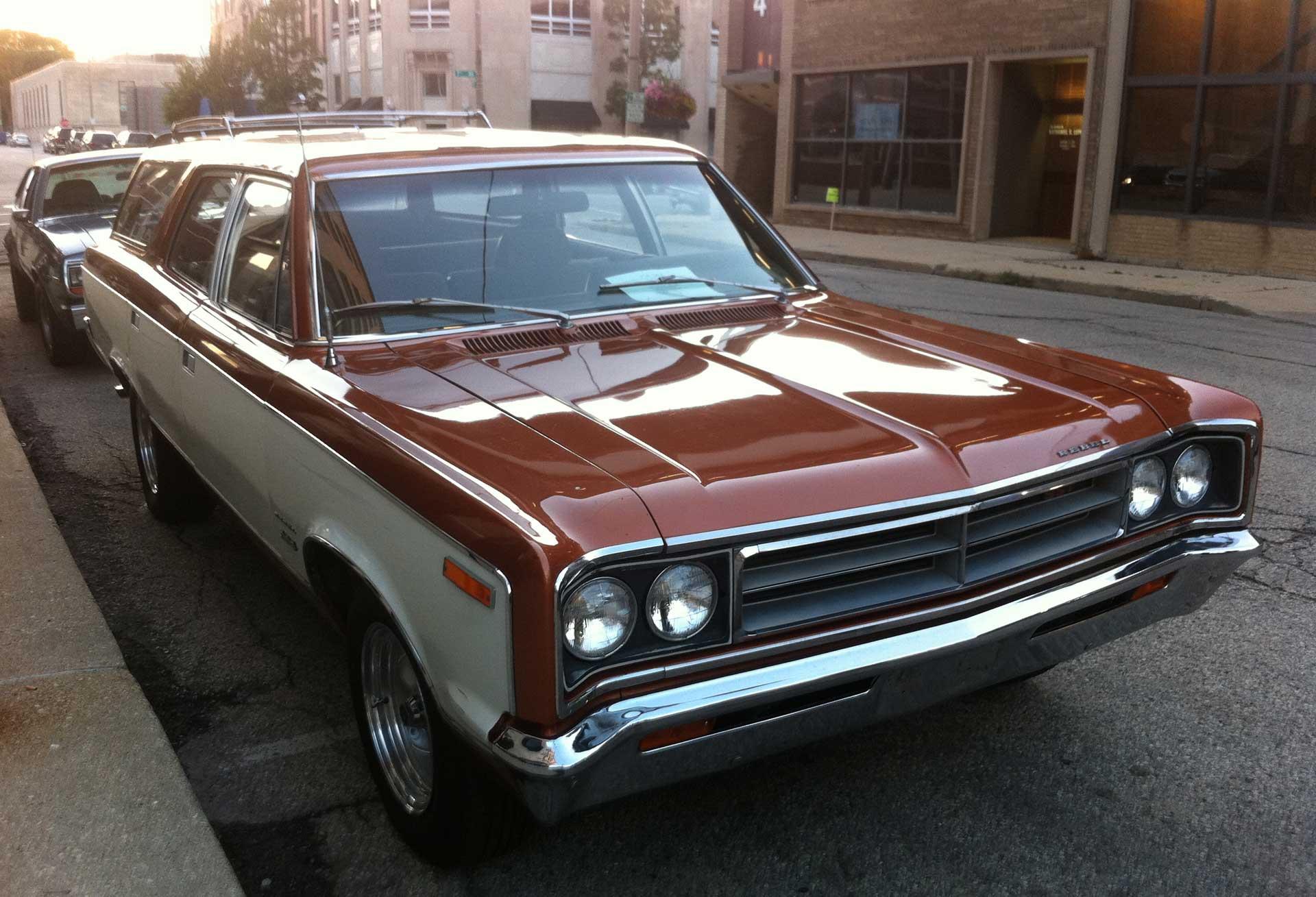 AMC Rebel 1970 station wagon
