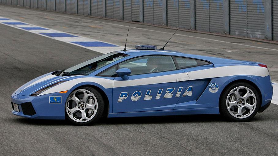 Lamborghini-gallardo-polizia-italian