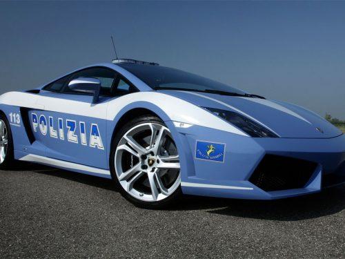 Lamborghini Gallardo Police Italian Car