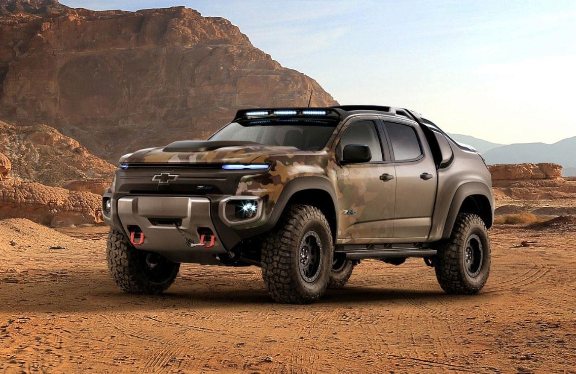 Colorado ZH2 (Military Truck) – Chevrolet